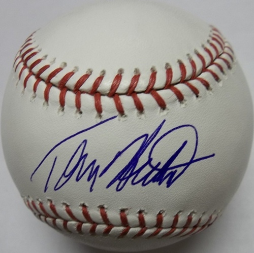 Photo of Tommy Hutton Autographed Baseball