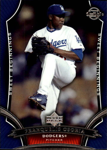 Photo of 2005 Sweet Spot #116 Franquelis Osoria SB RC