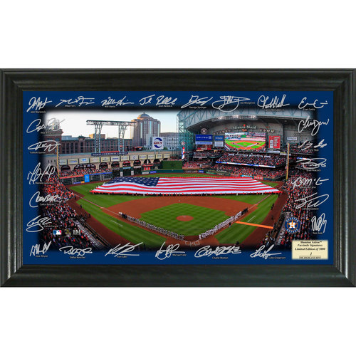 Photo of Serial #1! Houston Astros 2017 Signature Field