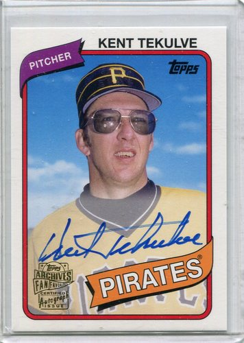 Photo of 2015 Topps Archives Fan Favorites Autographs Kent Tekulve