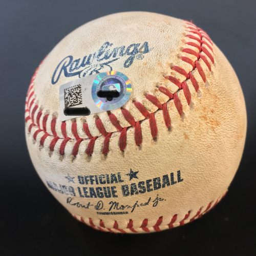 Photo of Game-Used Baseball: Lance McCullers, Jr. Induces Groundout on Albert Pujols