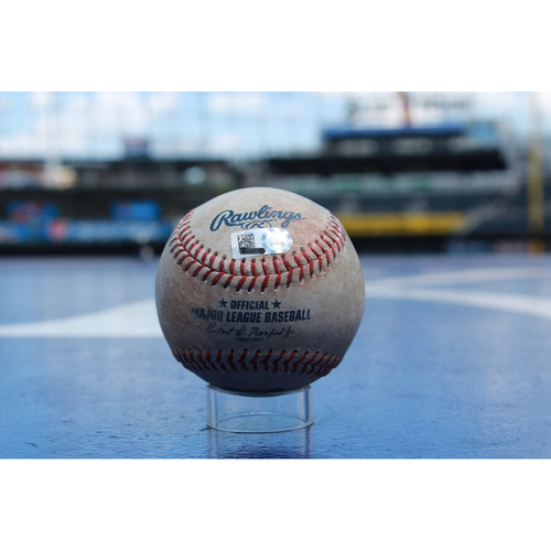 Photo of Game-Used Baseball: Whit Merrifield (8/4/17 - SEA at KC)