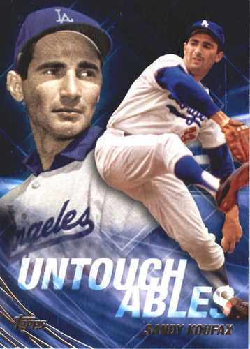 Photo of 2017 Topps Update Untouchables #U10 Sandy Koufax