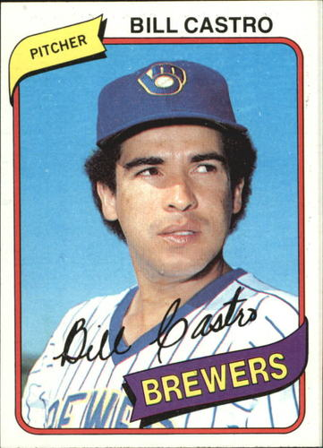 Photo of 1980 Topps #303 Bill Castro