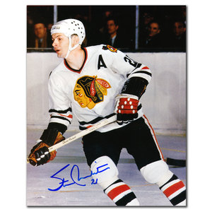 Stan Mikita Chicago Blackhawks Autographed 8x10