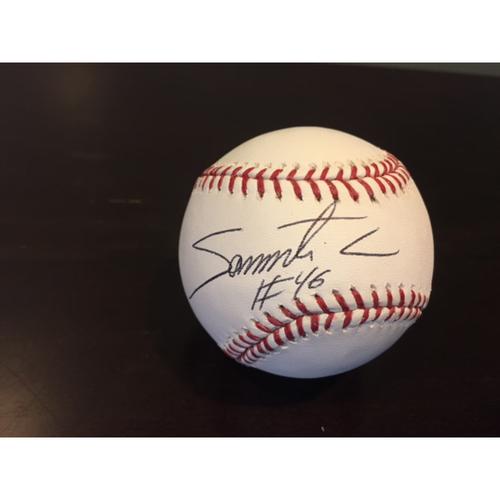 Photo of Giants Community Fund: Santiago Casilla Autographed Baseball
