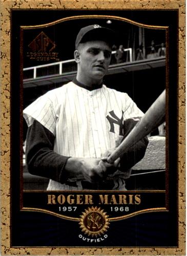 Photo of 2001 SP Legendary Cuts #86 Roger Maris