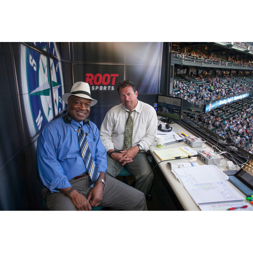 Photo of Mariners Care Charity Night: <b><i>ROOT SPORTS</i></b> Broadcast Booth visit w/Terrace Club Tickets