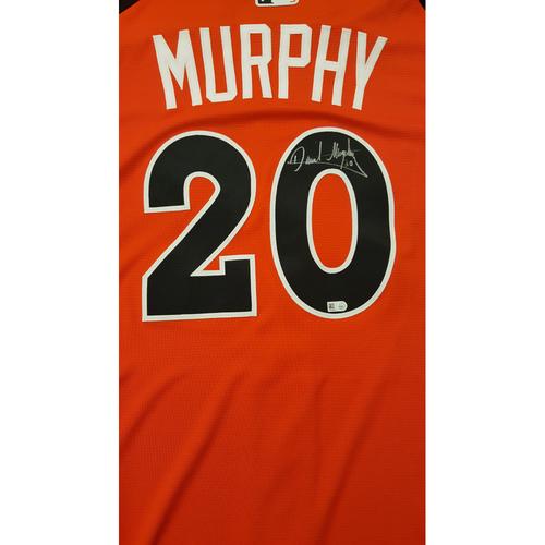 Photo of Daniel Murphy 2017 Major League Baseball Workout Day/Home Run Derby Autographed Jersey