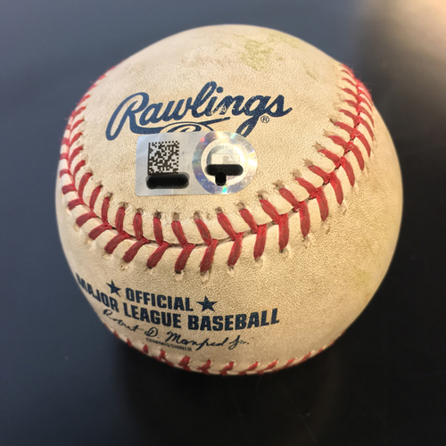 Photo of Game-Used Baseball: Marwin Gonzalez Single