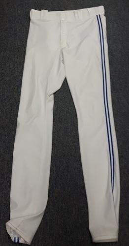 Authenticated Team Issued White Pants - #41 Aaron Sanchez (2015 Season). Size 36-38 38 OB.