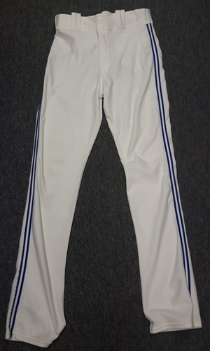 Photo of Authenticated Team Issued White Pants - #57 Mark Lowe (2015 Season). Size 36-40 38 OB.