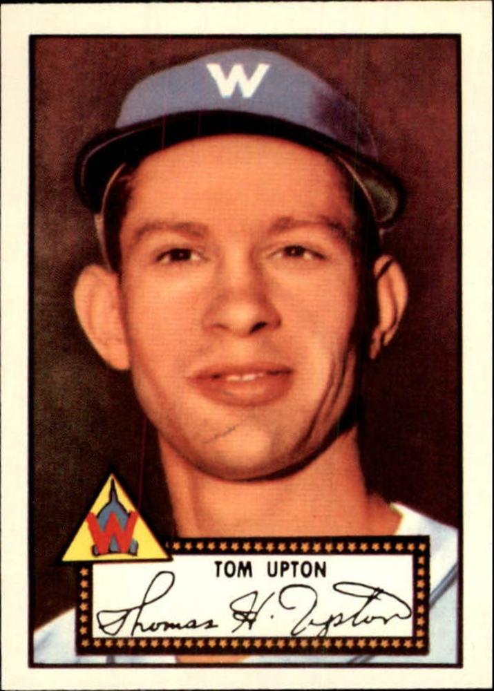 1983 Topps 1952 Reprint #71 Tom Upton