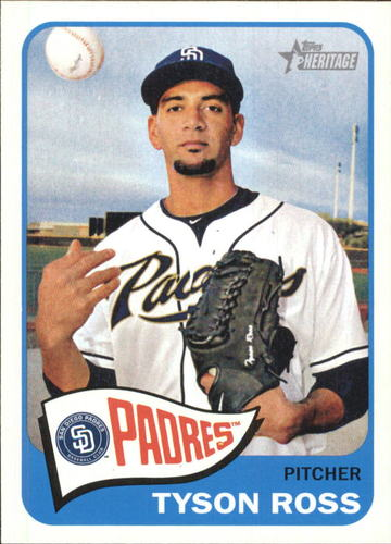 Photo of 2014 Topps Heritage #H522 Tyson Ross