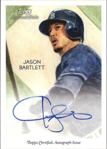Photo of 2010 Topps National Chicle Autographs #JB Jason Bartlett A