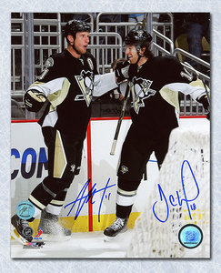 Jordan Staal & James Neal Pittsburgh Penguins Dual Signed Celebration 8x10 Photo