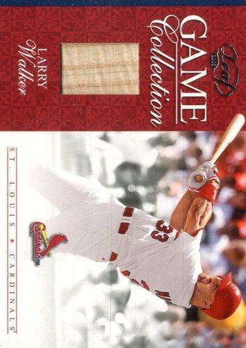 Photo of 2005 Leaf Game Collection #18 L.Walker Cards Bat