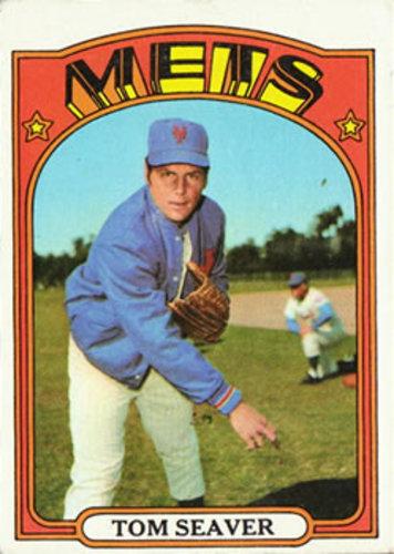 Photo of 1972 Topps #445 Tom Seaver