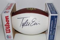 NFL - TEXANS TYLER ERVIN SIGNED PANEL BALL