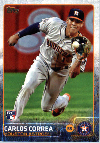 Photo of 2015 Topps Update #US174A Carlos Correa RC