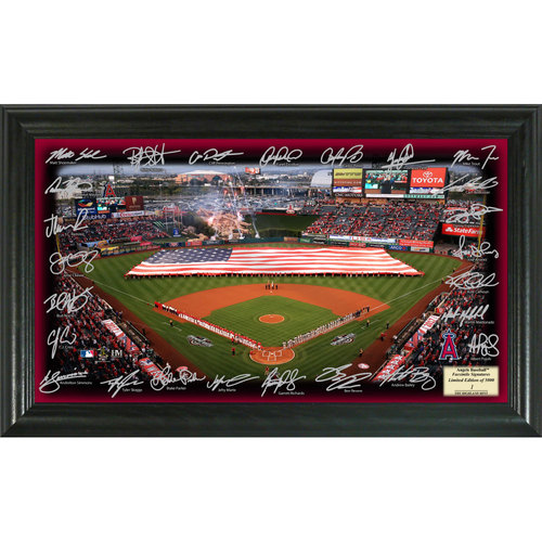 Photo of Serial #1! Los Angeles Angels 2017 Signature Field