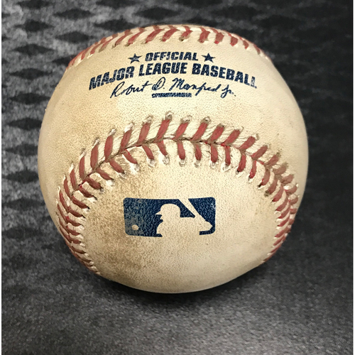 Photo of 2017 All-Star Auction: Game-Used Baseball - Carlos Correa At Bat vs. Robbie Ray
