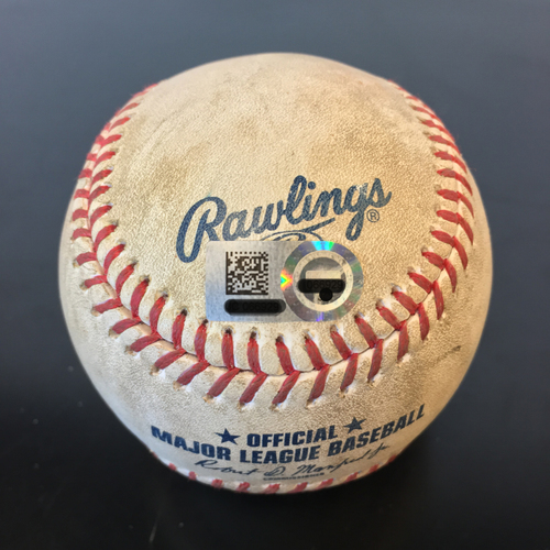 Photo of Game-Used Baseball: Carlos Correa Single