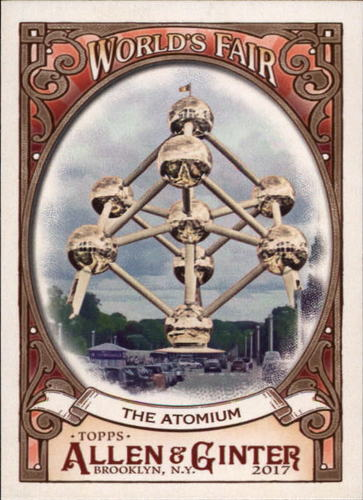 Photo of 2017 Topps Allen and Ginter World's Fair #WF3 The Atomium/Expo '58