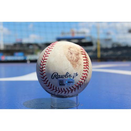 Photo of Game-Used Baseball: Melky Cabrera Single (8/6/17 - SEA at KC - Game 1)