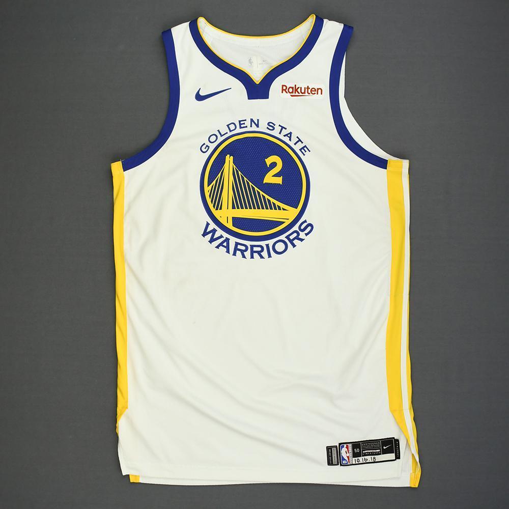 Jordan Bell - Golden State Warriors - Kia NBA Tip-Off 2018 - Game-Worn Association Edition Jersey