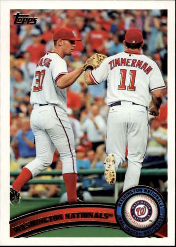 Photo of 2011 Topps #374 Washington Nationals TC