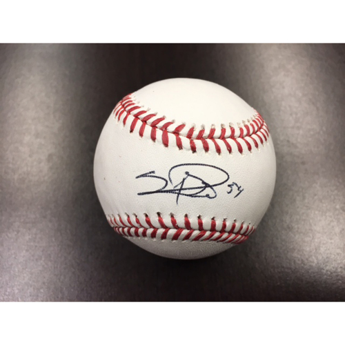 Photo of Giants End of Year Auction: Sergio Romo Autographed Baseball