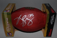 NFL - BEARS KYLE LONG SIGNED AUTHENTIC FOOTBALL