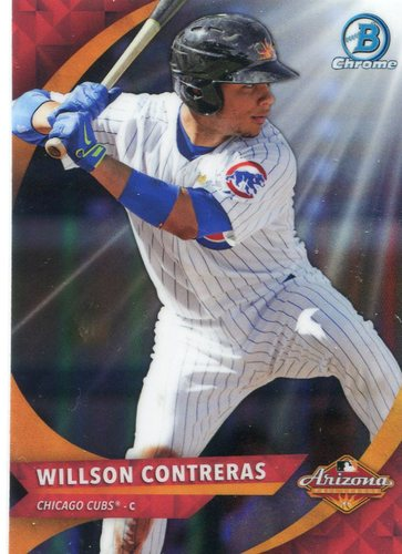 Photo of 2016 Bowman Chrome AFL Fall Stars #AFLWC Willson Contreras