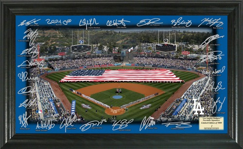 Photo of Serial #1! Los Angeles Dodgers 2017 Signature Field