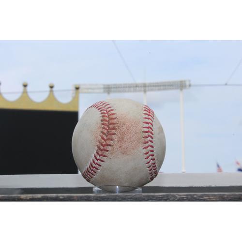 Photo of Game-Used Robinson Cano RBI Single (SEA @ KC 8/3/17)