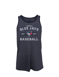 Toronto Blue Jays Triblend Contrast Tank by Majestic Threads