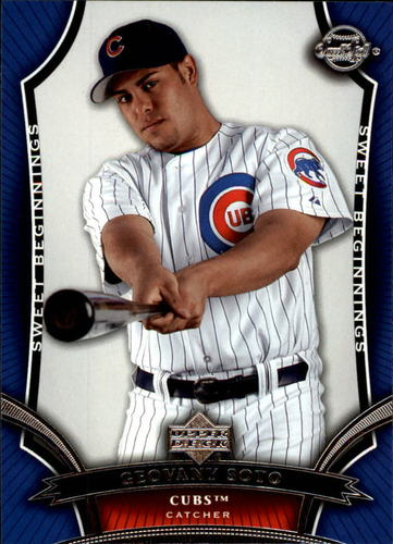 Photo of 2005 Sweet Spot #118 Geovany Soto SB RC