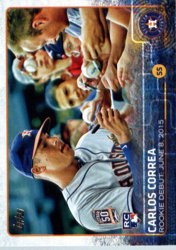 Photo of 2015 Topps Update #US251 Carlos Correa RD