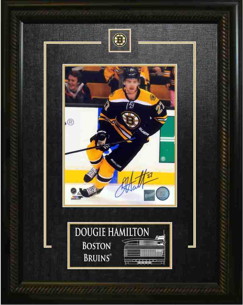Dougie Hamilton - Signed & Framed 8x10