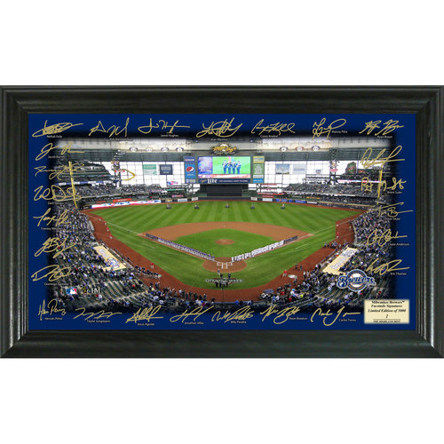 Photo of Serial #1! Milwaukee Brewers 2017 Signature Field