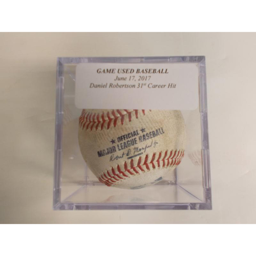 Photo of Game-Used Baseball: Daniel Robertson's 31st Career Hit