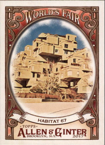 Photo of 2017 Topps Allen and Ginter World's Fair #WF19 Habitat 67/Expo 67