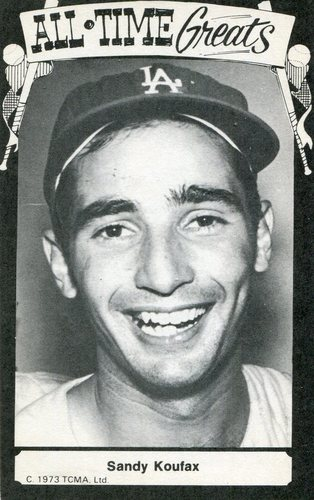Photo of 1973-79 TCMA All-Time Greats #89 Sandy Koufax