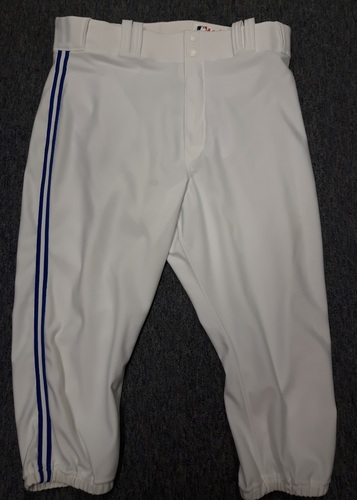 Photo of Authenticated Team Issued White Pants - #57 Mark Lowe (2015 Season). Size 36-42 20.