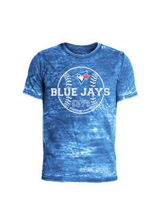 Toronto Blue Jays Destructed Triblend T-shirt by Majestic Threads