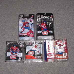 Montreal Canadiens McFarlane Figurine Lot