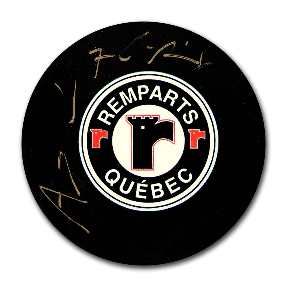 Angelo Esposito Autographed Quebec Remparts Puck