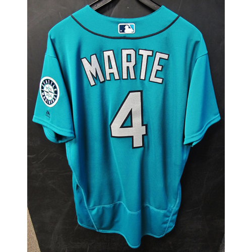 Photo of Ketel Marte Green Game-Used Jersey - 9-19-2016 Size 46