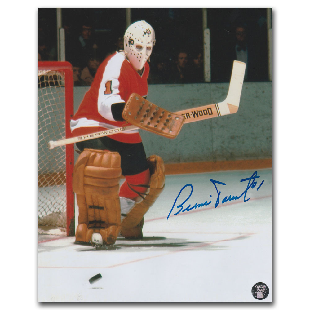 Bernie Parent Autographed Philadelphia Flyers 8X10 Photo
